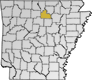 Arkansas map icon